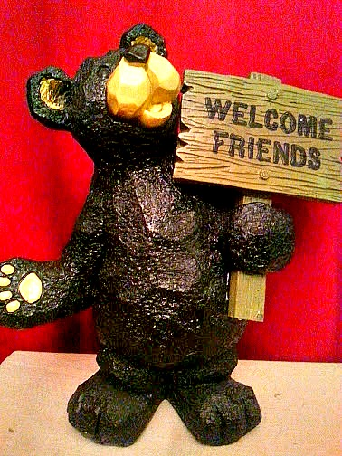 Welcome Bear from Personal Creations