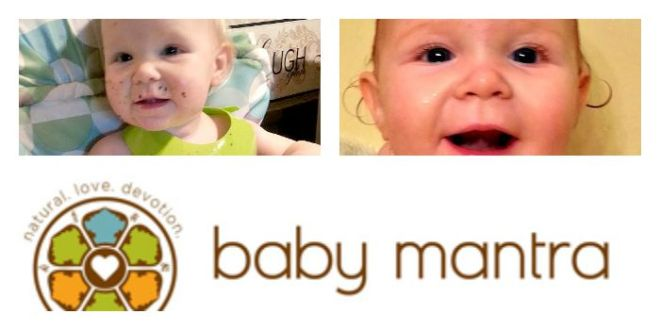 baby mantra pin