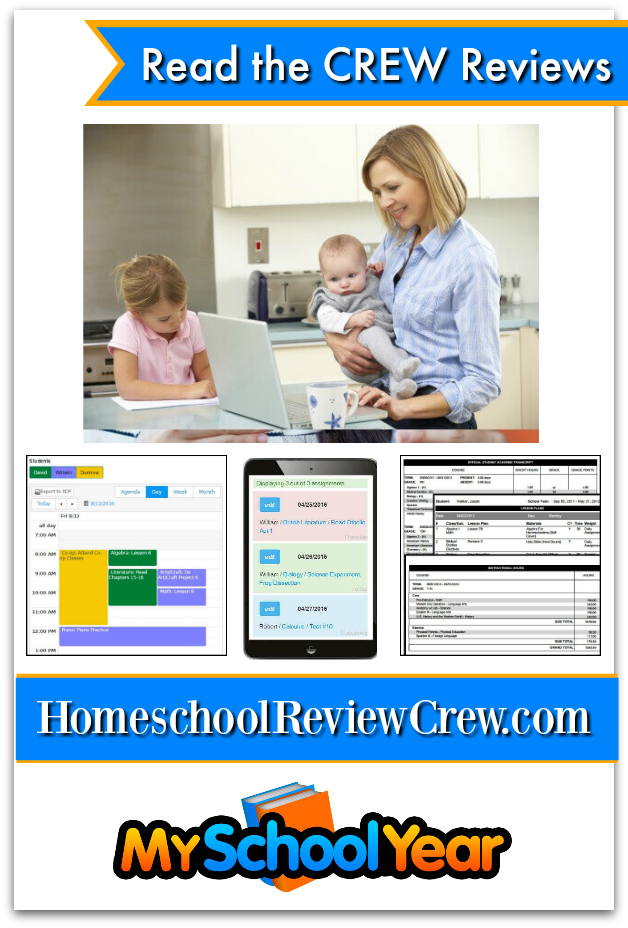 My School Year Homeschool Record Keeping Homeschool Planner Review