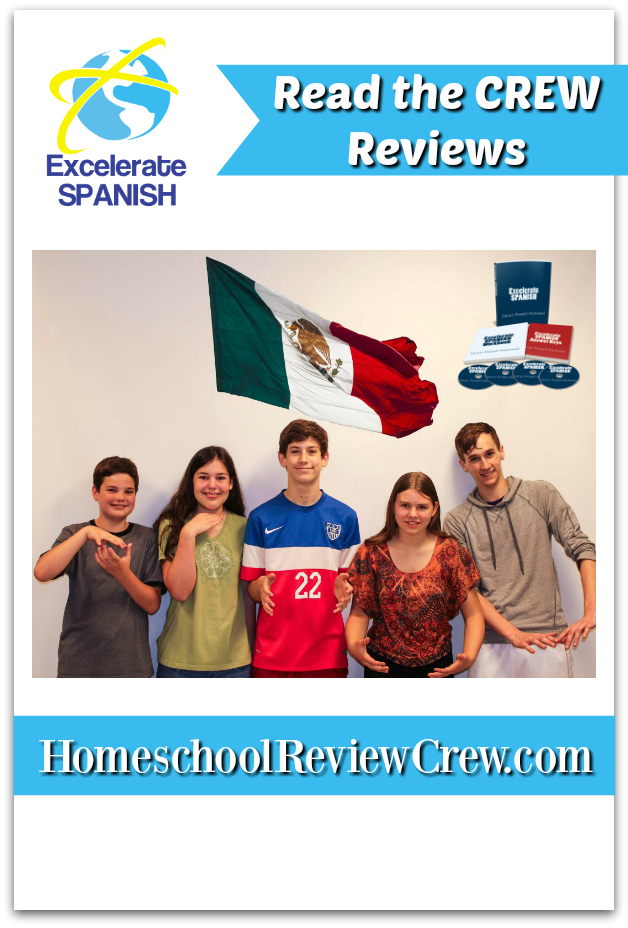 see other reviews from the Homeschool review crew about Excelerate Spanish