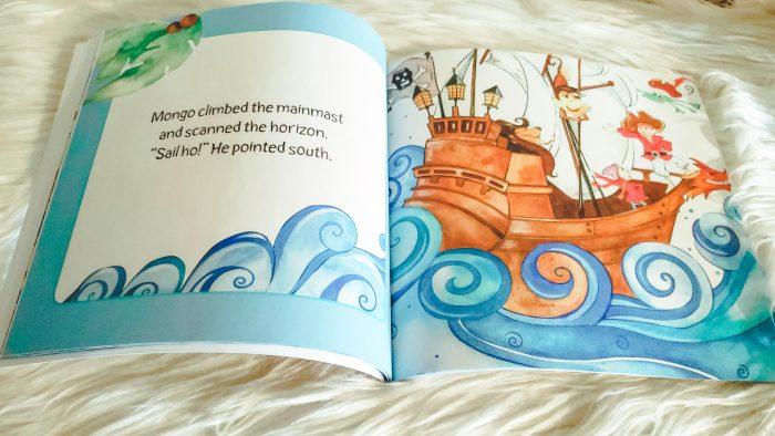Carole P. Roman children's books review Captain No Beard