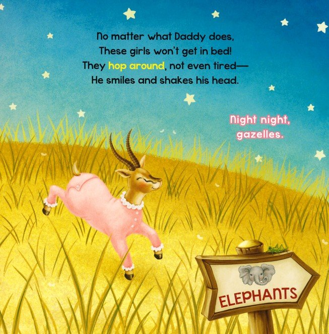 Night Night, Zoo is a wonderful children's bedtime book to help your kids wind down as they wish their favorite zoo animals a good night!