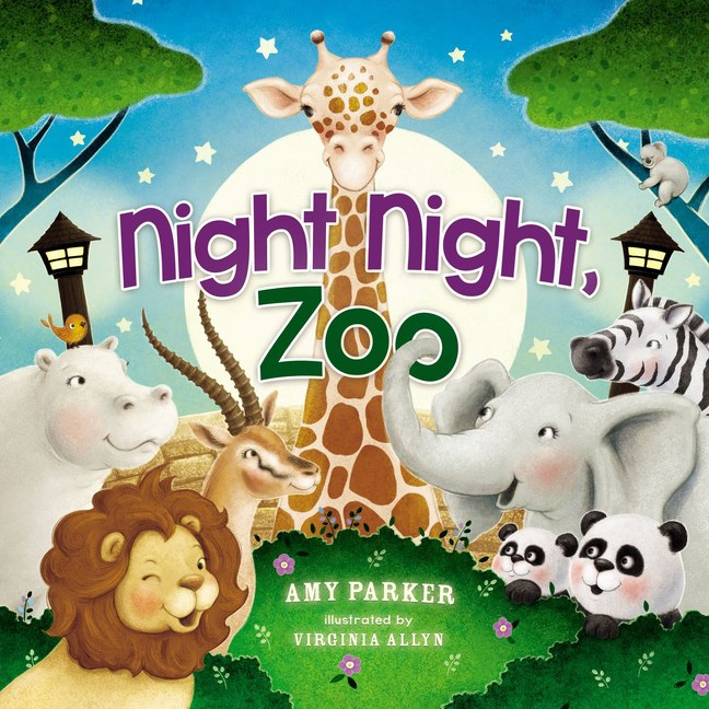 Night Night, Zoo is the perfect children's bedtime book to help your kids wind down as they wish their favorite zoo animals a good night!