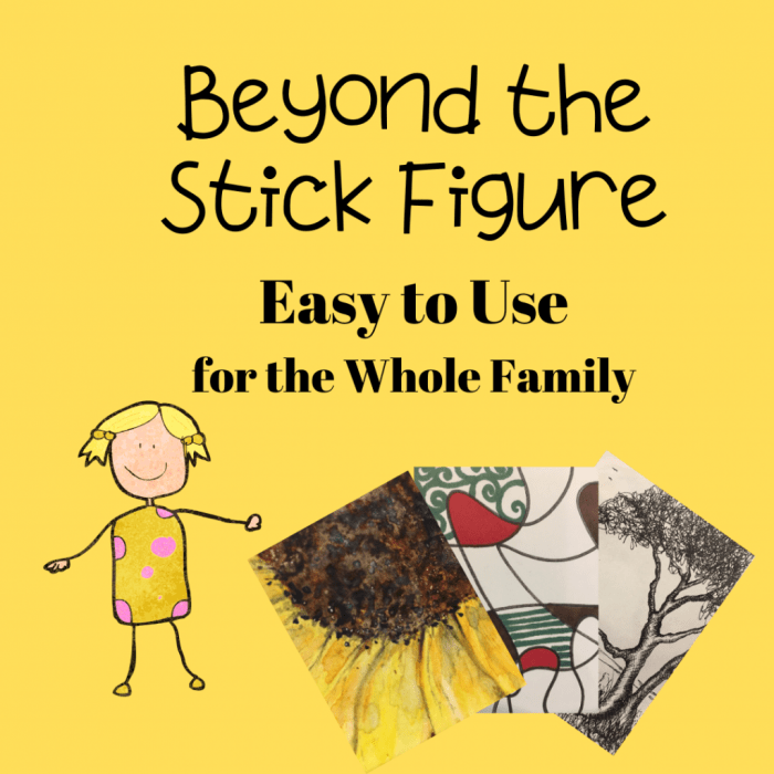 beyond-the-stick-figure-complete-drawing-course-homeschool-art-curriculum-review