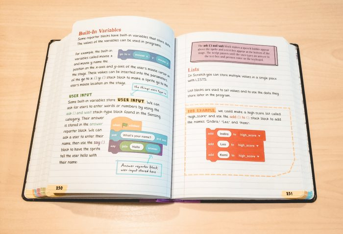 Everything You Need to Ace Computer Science and Coding in One Big Fat Notebook gives your middle school child everything they need to start coding!