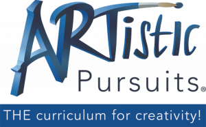 ARTistic Pursuits is a complete fine arts program for homeschool art with art instruction, art history, and art projects. All that is needed in addition to the book are the art supplies listed in front of each book.