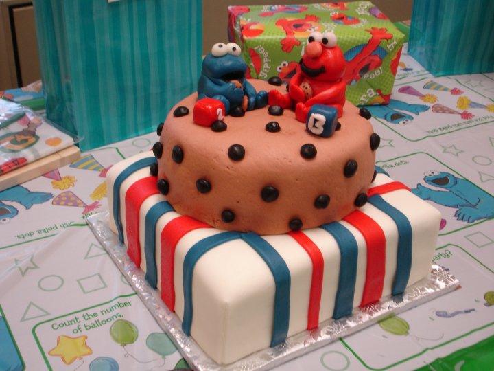 Elmo Cakes Bear Heart Baking Company