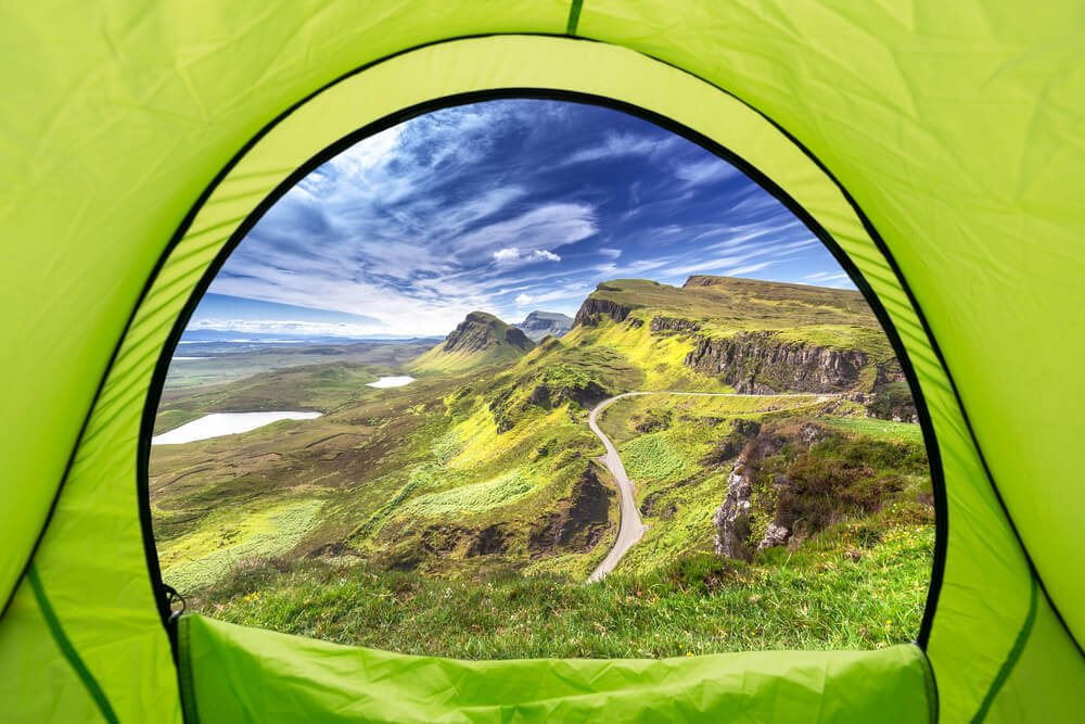 Exploring Scotland the Wild Way Camping In the Rough 5