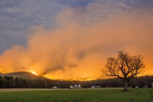 Shenandoah National Park 4 fire