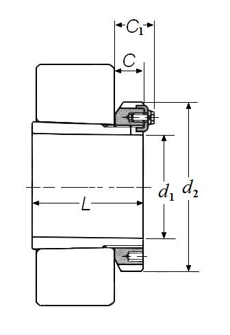 Item # H3156, Adapter, Sleeve with Lockplate On NTN