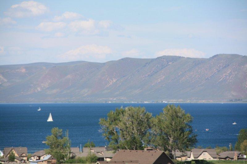 Sailing on Bear Lake
