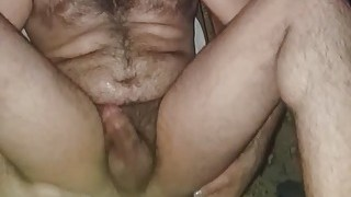 Young gay Armenien anal masturbation on rocker chair