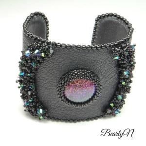 bracelet manchette Hypnose par BearlyN