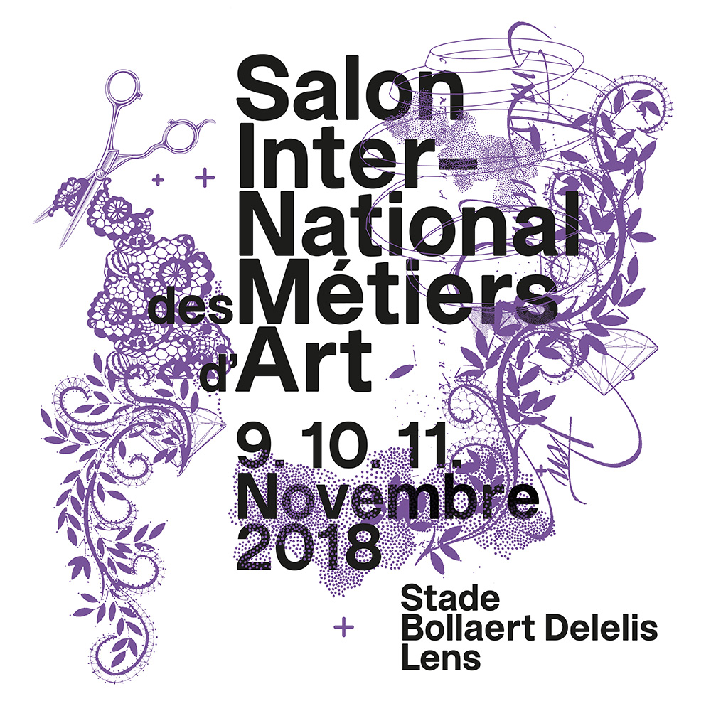 Salon International des Métiers d'Art 2018 à Lens_BearlyN