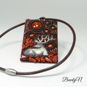 pendentif Wapiti-collection Totem par BealyN