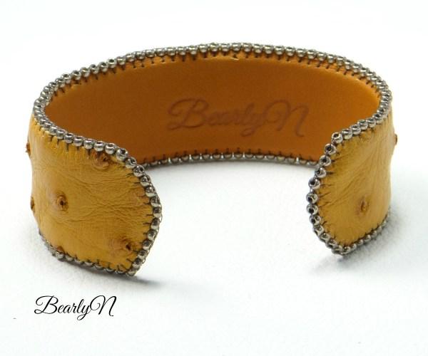 doublure bracelet fauve