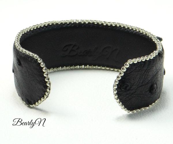 doublure bracelet noir_BearlyN