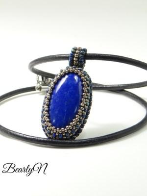 pendentif lapis lazuli_BearlyN