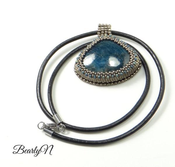 collier pendentif apatite_BearlyN