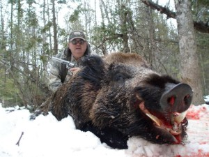 Rich Hand Gun Boar Hunt