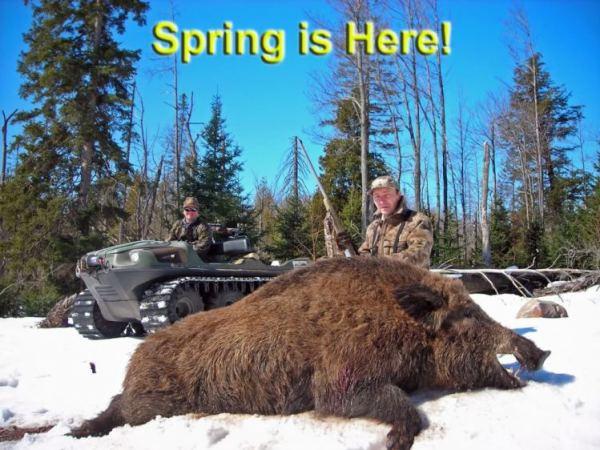 Russian Boar Bucket List