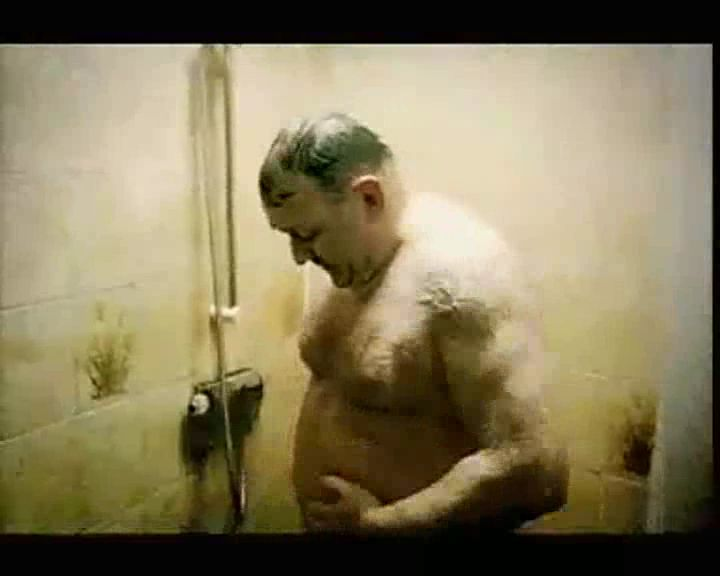 Chubby Daddy Bear Taking A Shower Healthy Living Commercial  Bearmythology-6518