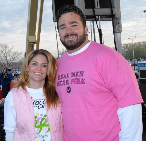 Jeff Saturday Real Men Wear Pink 03a