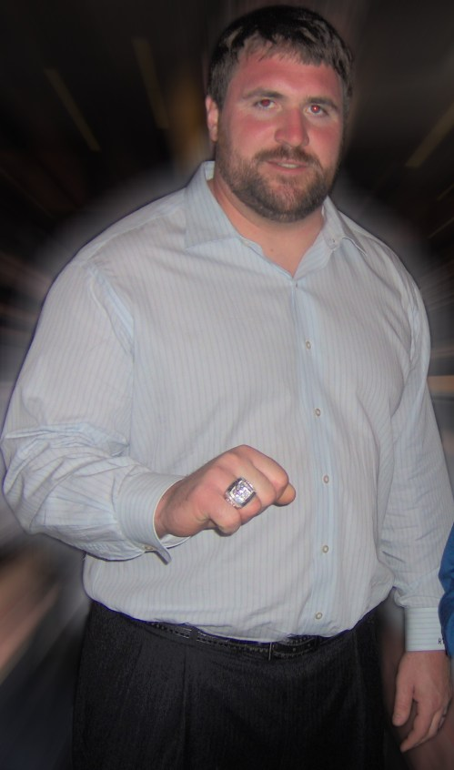 Rich Seubert superbowl ring