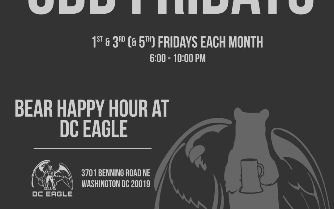 DC's Newest Bear Happy Hour is at the DC Eagle
