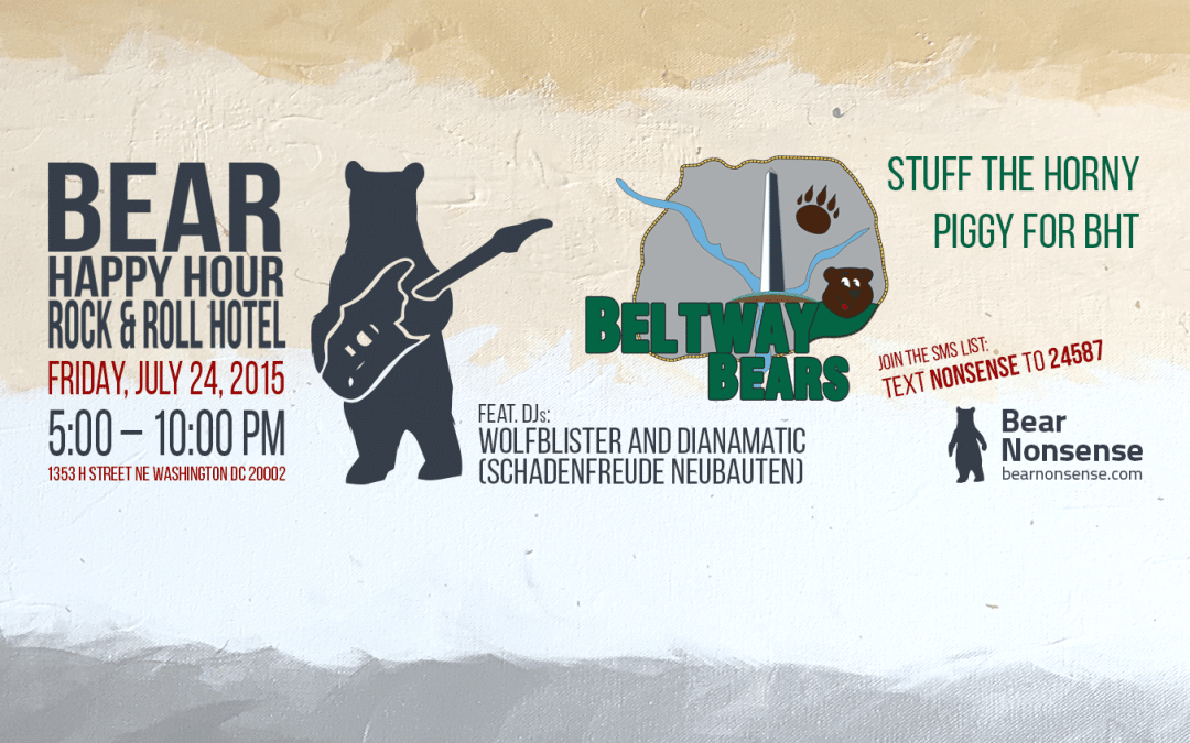 Wolfblister and Dianamatic Spin for Special Guests Beltway Bears