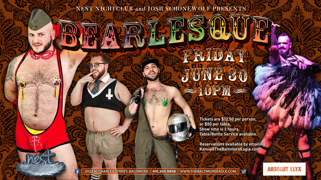 Bearlesque Comes to Baltimore