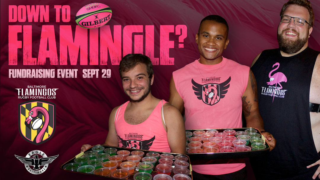 September 29 Wear Pink to Support Baltimore Flamingos Rugby