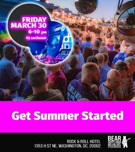 Bear Happy Hour at Rock & Roll Hotel Get Summer Started