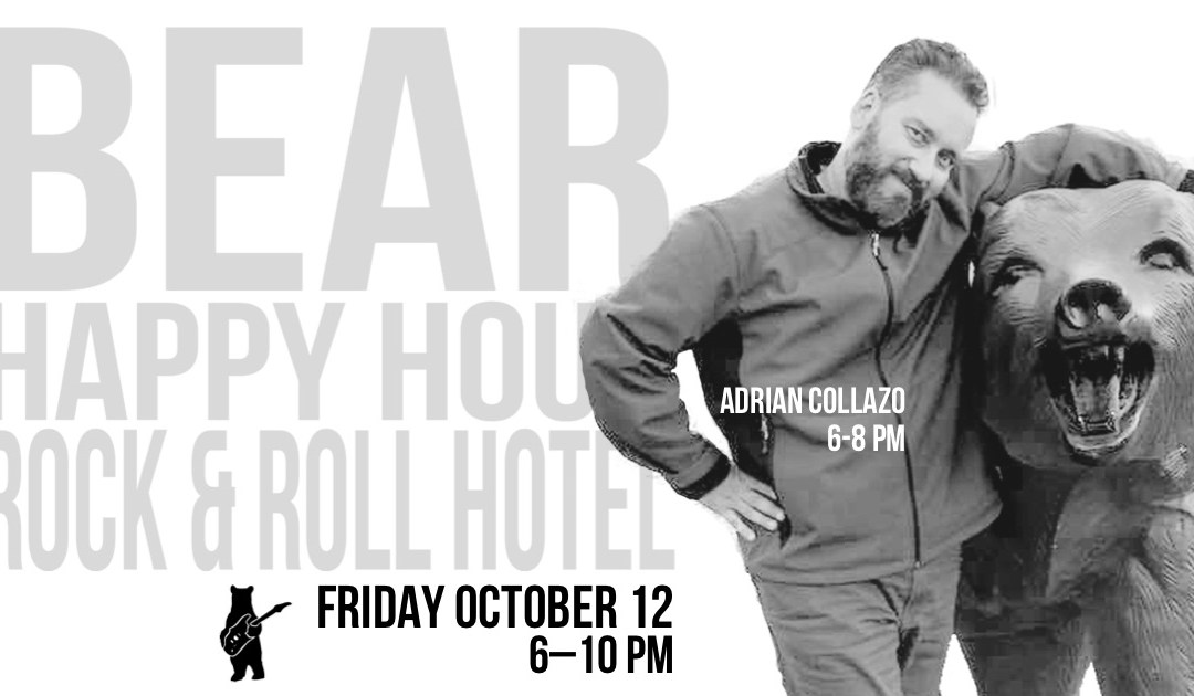 Adrian Collazo – Bear Happy Hour at Rock & Roll Hotel – October 12, 2018