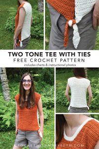 Crochet Tied Shirt