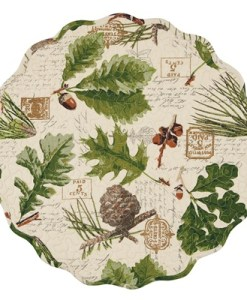 "Wildlife Trail 17"" Round Placemat"