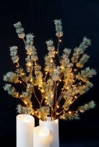 Pine Willow Branch LED Light