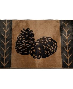 Pinecone Kitchen/Bath Rug