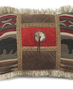 Backwoods Button Pillow