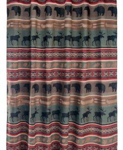 Backwoods Shower Curtain