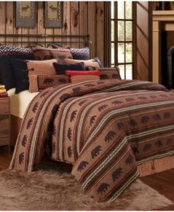 Bayfield Bear Duvet Bedding Collection