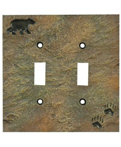Bear Double Switch Cover