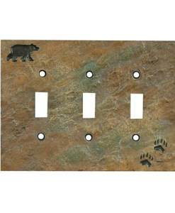 Bear Triple Switch Cover