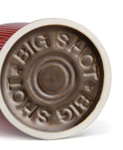 Big Shot 12 Gauge Shotgun Shell Glass bottom