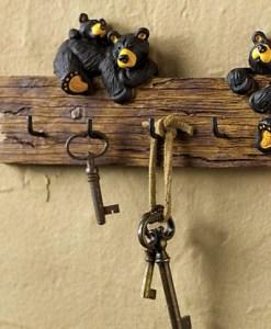 Black Bear Key Holder