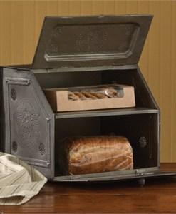 Black Star Metal Bread Box