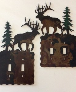 Elk Double Toggle Switch Plate Cover