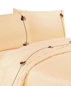 Embroidered Pinecone Sheet Set