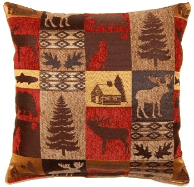 Faribanks Red Pillow
