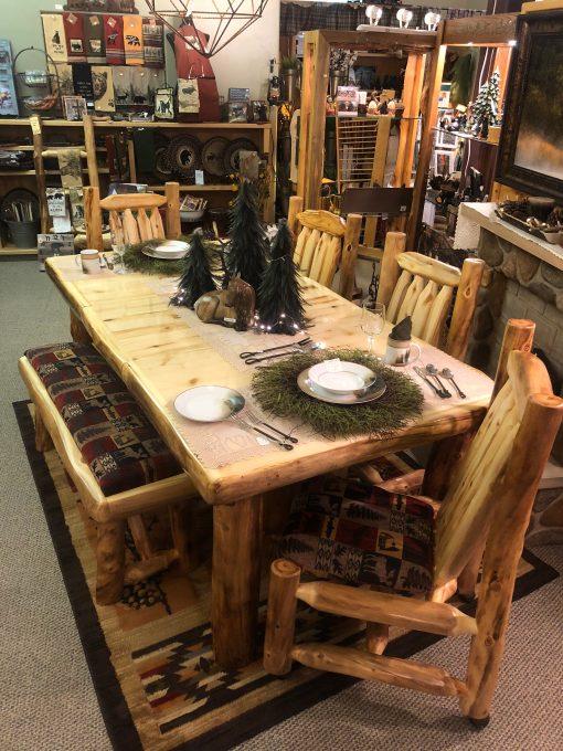 Aspen Log Expandable Table